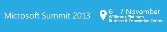 Microsoft Summit 2013